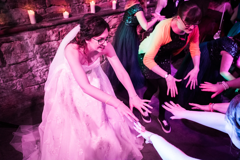 Ashley & Jonathan - A Caves wedding - Fern Photography