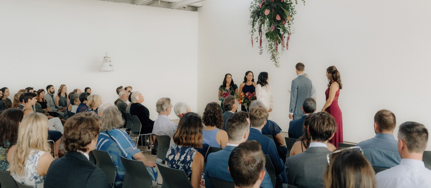best BC wedding venues featuring the polygon gallery in north vancouver