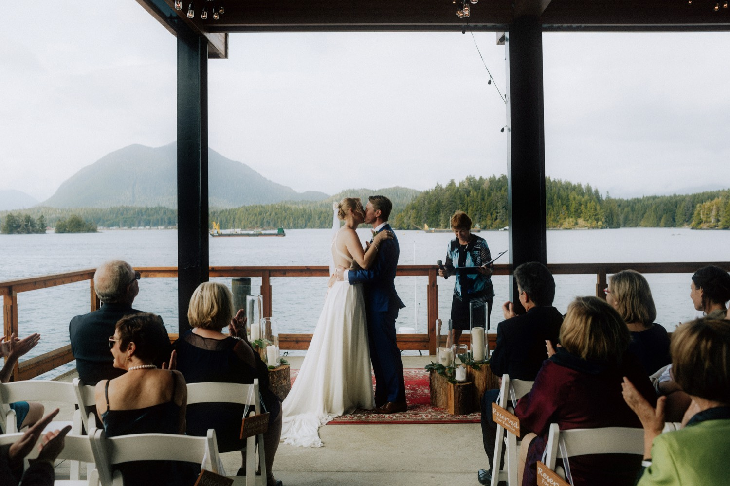 best tofino wedding venues including the shore pier