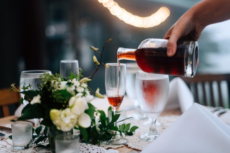 homemade mead wedding