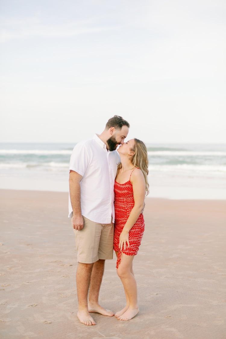 Shelley Kyle Oceanside Engagement Ormond Beach Fl Paige Mercer Photography