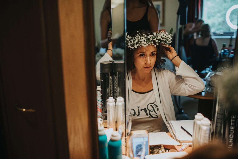 Lara & Dan | Boho Swallows Nest Barn Wedding 1