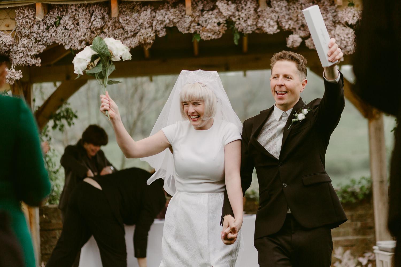 Creative fine art documentary wedding photographer