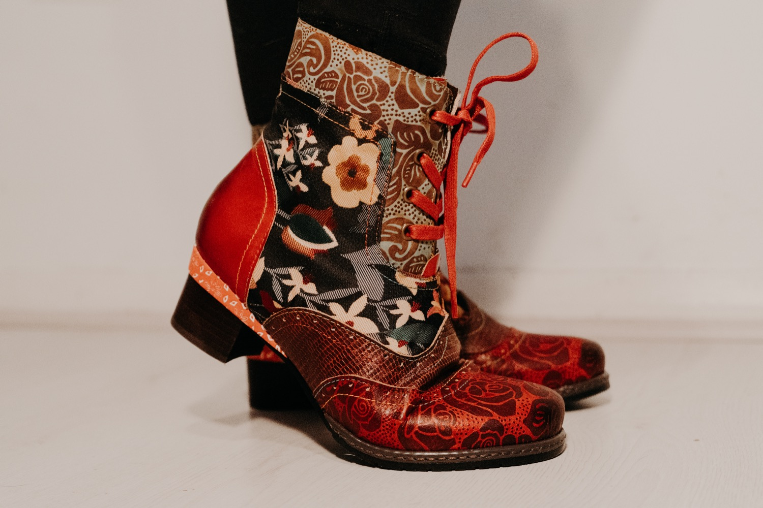 Patchwork Winter Boots 1