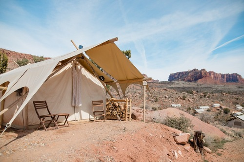 Epic Glamping Adventure Elopement | Zion National Park