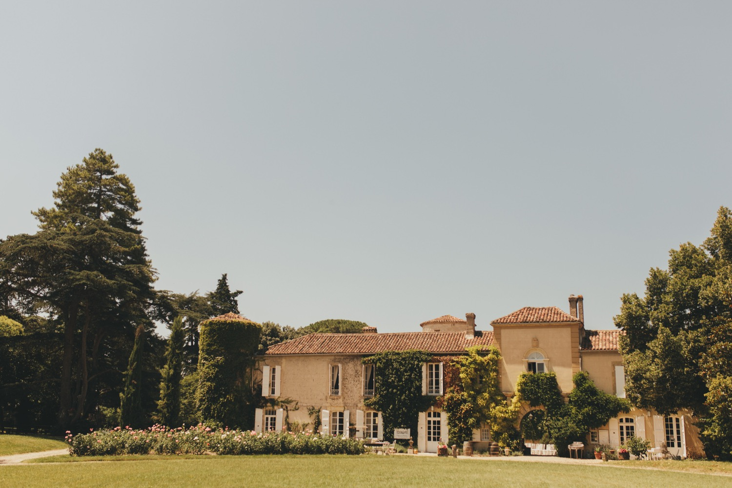Chateau de Malliac wedding