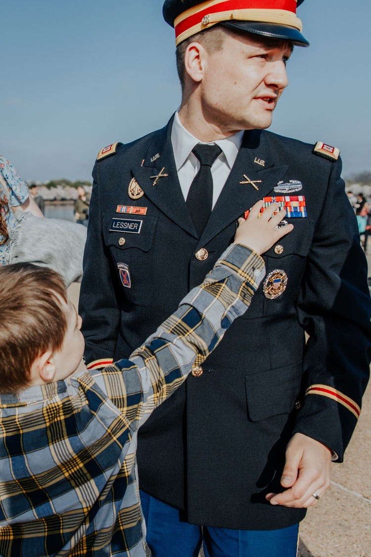 promotion ceremony to captain — All Blog Posts-Darcy