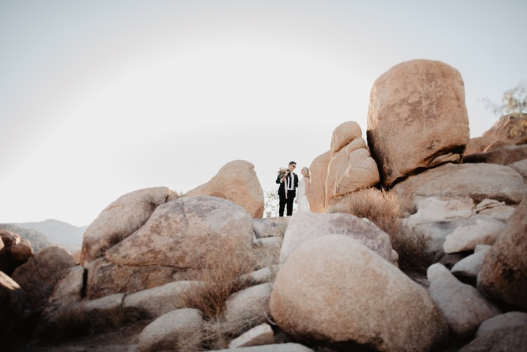 Heather Woolery Photography How To Elope In Joshua Tree