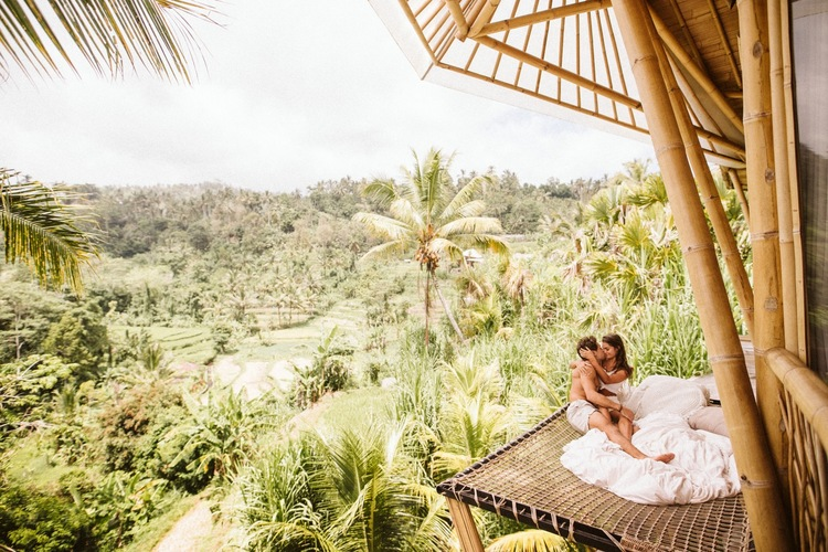 Honeymoon Session At Camaya Villa In Ubud Bali Indonesia Brittany Boote Photography Nepa Wedding Photographer