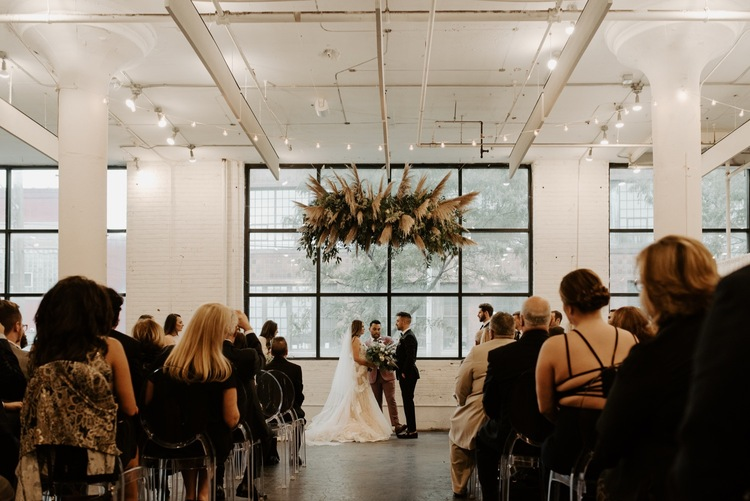 Bohemian Industrial Wedding Hannahbaldwinphotography Com