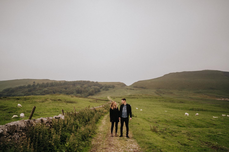 Edina & John | Peak District engagement shoot 2