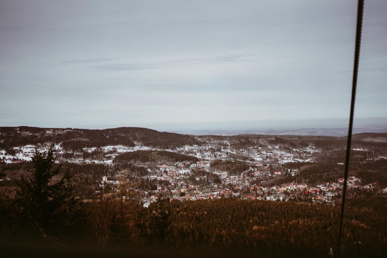 Dziki Wodospad, sesja poślubna zimą, sesja ślubna w śniegu, sesja w górach, Szrenica Szrenica i sesja ślubna w górach