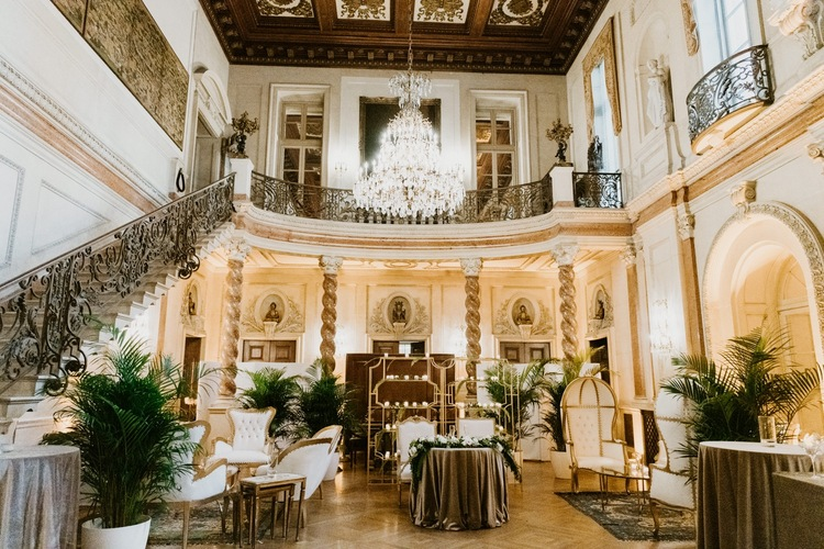 Larz Anderson House Wedding Jessica Spoll Photography