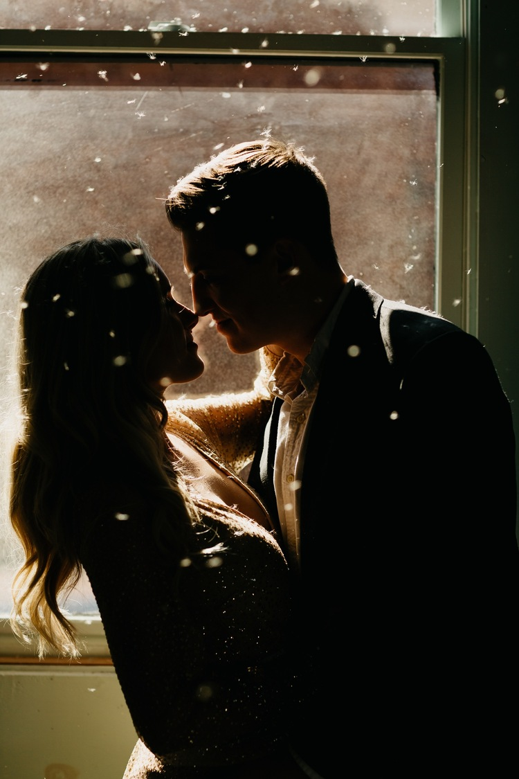 silhouette couples photography