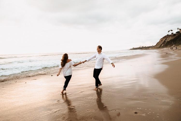 Laguna Beach Coastal Couples Shoot Dear Kodak Photography
