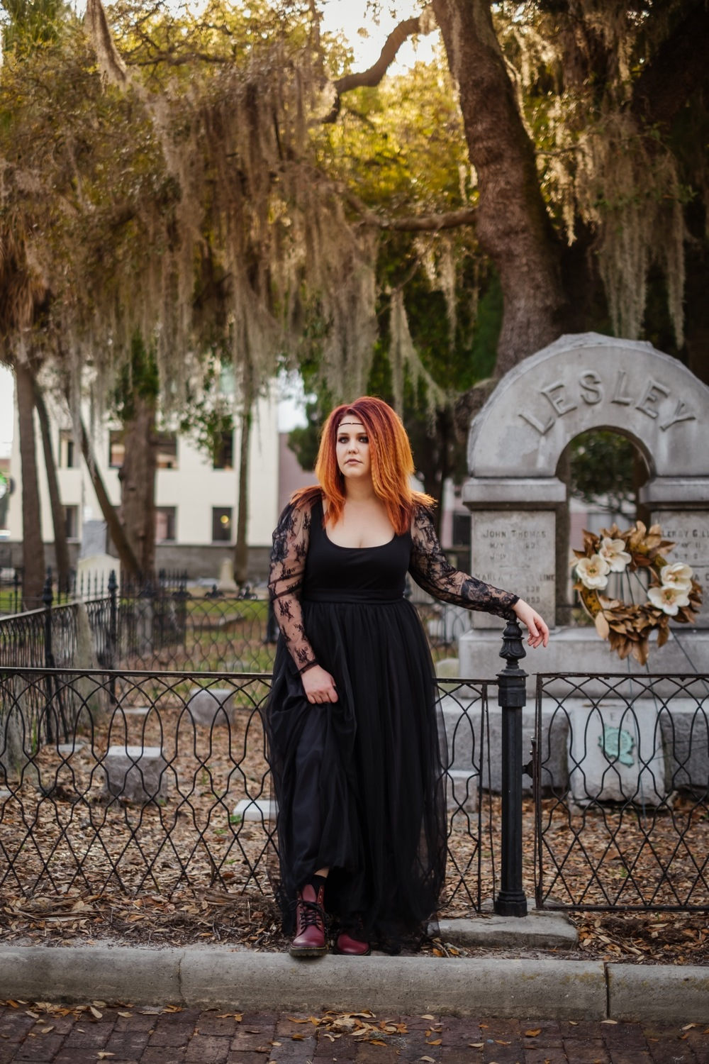 Goth Cemetery Shoot For 30th Birthday Tampa Wedding Photography Sophisticated Fun Vibrant 30th birthday smash cake and booze photo shoot. goth cemetery shoot for 30th birthday