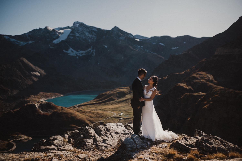 Stefano + Lili - Elopement sulle Alpi, Colle del Nivolet  -