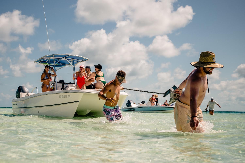 featured - Elegant Casa Marina Destination Wedding & Sandbar Party in Key West