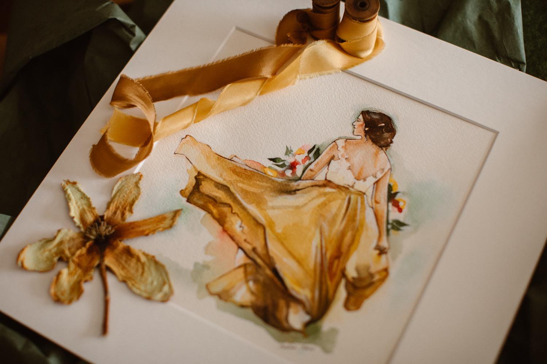 Aquarelle Romance: Woodland Lake Intimate Wedding in Colorado | Intimate Weddings + Adventure Elopements with Shalayne Mowry